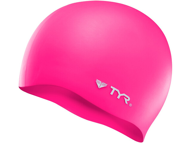TYR Silicone Casquette No Wrinkle, flou pink